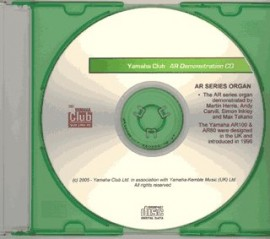 Archive Demonstration Disc: AR100 Electone (Audio CD)
