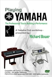 DVD Tutorial: The Professional Touch - Building a Performance (Richard Bower)