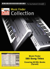 Easy Keyboard Library Music Finder Collection: Tyros5 (Download version)