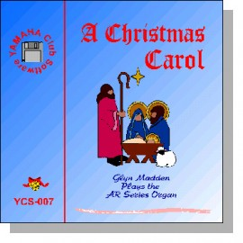 'A Christmas Carol' - Performance and Registrations for AR Organs