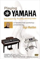 DVD Tutorial: Basic Sequencing - Recording with Song Creator (Glyn Madden)