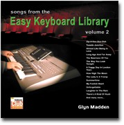 'Songs from the Easy Keyboard Library - Vol.2' - Glyn Madden (Audio CD)