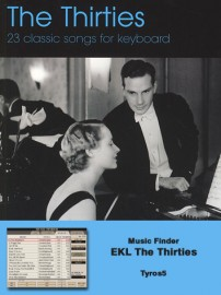 Music Finder Download - EKL The Thirties (Tyros5)