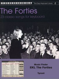 Music Finder Download - EKL The Forties (Tyros4)