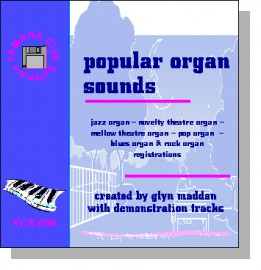 'Popular Organ Sounds' - Registrations for AR Organs