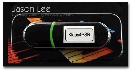 Klaus-4-PSR: Software for PSR-S770 & PSR-S970 - Yamaha Club Shop