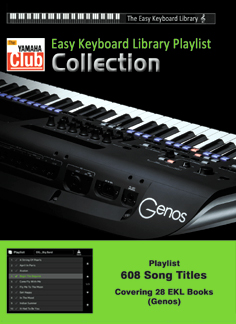 Easy Keyboard Library Playlist Collection (Download version