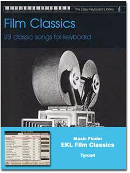 Music Finder Download: EKL Film Classics (Tyros4) - Yamaha